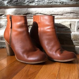 BP leather booties size 8.5 from Nordstrom